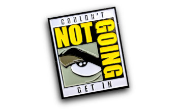 Exclusive Comic Con Pin from He and She Pins
